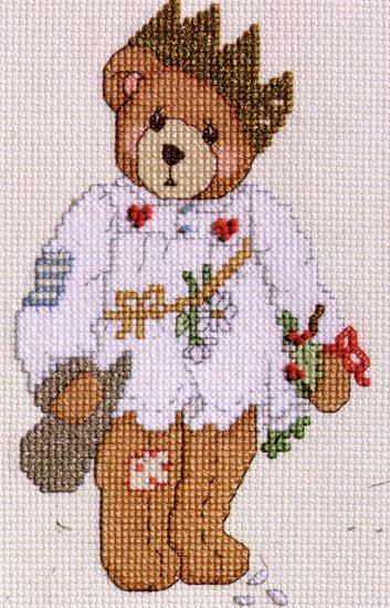QUICK FINISH CROSS STITCH KIT CHRISTMAS CAROL GLORIA