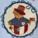 CROSS STITCH KIT ROLY POLY CHERISHED TEDDY  JULY