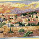 RARE DERTNER JUDAIC INTEREST COUNTED NEEDLEPOINT KIT JERUSALEM EVENING