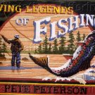 RARE REINARDY FLY FISHING LEGENDS LONGSTITCH NEEDLEPOINT KIT TROUT