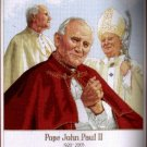 INSPIRATIONAL PAPAL CROSS STITCH KIT POPE JOHN PAUL II