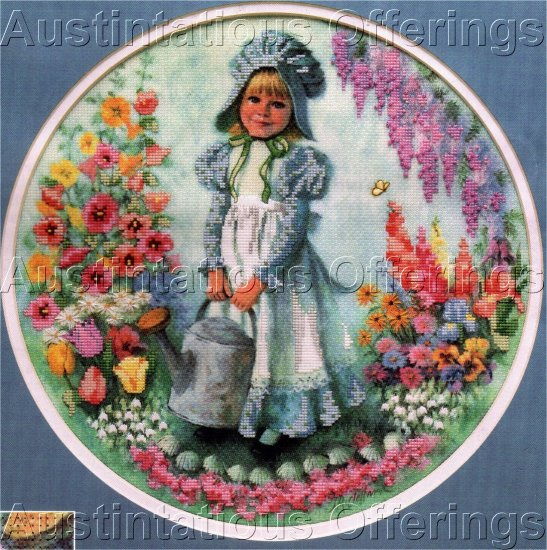 MCLELLAND REPRODUCTION  NO COUNT CROSS STITCH KIT MARY MARY