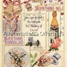 WEDDING INVITATION SAMPLER CROSS STITCH KIT TRADITIONS