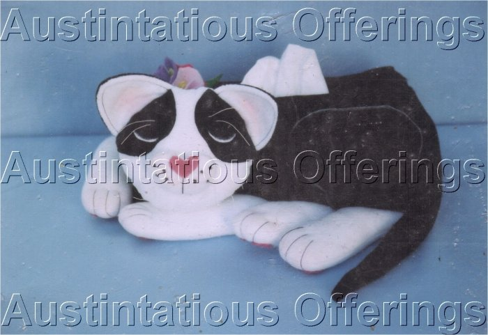TISSUE BOX COVER PATTERN CAT NAP