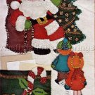 Felt Applique Letters to Santa Holder Banner Kit