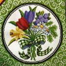 RARE  MEREDITH GLADSTONE COUNTED NEEDLEPOINT KIT SPRING TULIP BOUQUET