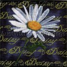 RARE DAISY SAMPLER NEEDLEPOINT PILLOW KIT SUMMER FLORAL