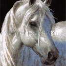 MAGNIFICENT STALLION PERSIS CLAYTON WEIRS NEEDLEPOINT KIT WHITE HORSE