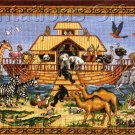 RARE KATY WINTERS NOAHS ARK NEEDLEPOINT KIT ALLIGATOR FLAMINGO PARROTS