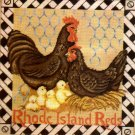 RARE ELSA WILLIAMS CHICKEN NEEDLEPOINT KIT FARM ROOSTER HEN