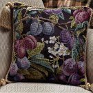 DONNA VERMILLION GIAMPA PLUMP JUICY PLUMS  PILLOW CROSS STITCH KIT
