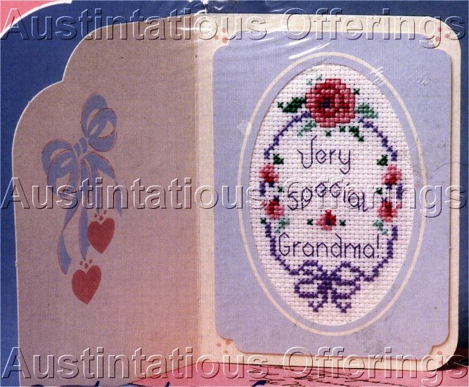 GRANDMA STITCHABLE GREETING CARD KIT