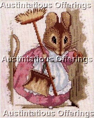 RARE BEATRIX POTTER TWO BAD MICE NEEDLEPOINT KIT HUNCA MUNCA MOUSE