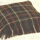SCOTTISH CLAN LUXURIOUS WORSTED WOOLS COUNTED NEEDLEPOINT PILLOW KIT FAMILY MACKENZIE TARTAN
