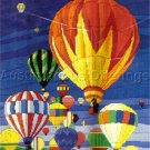 HTF HOT AIR BALLOONS AT DAWN REINARDY LONGSTITCH NEEDLEPOINT KIT