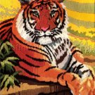 RARE  ROGER REINARDY WILDLIFE LONGSTITCH NEEDLEPOINT KIT TIGER IN REPOSE