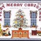VERY MERRY CHRISTMAS CROSS STITCH CHART NOT KIT