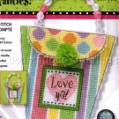 LOVE YA PERSONALITY DECORATION PURSE CROSS STITCH KIT