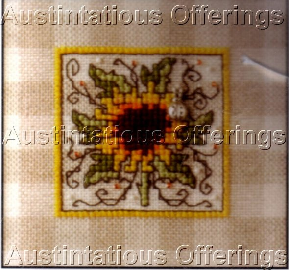 SUNFLOWER THE SWEETHEART TREE LADYBUG CROSS STITCH KIT
