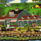 RARE WYSOCKI VILLAGE FOLK ART NEEDLEPOINT KIT FRESH FLOWERS