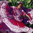 Linda Gillum Spanish Gypsy  Counted Cross Stitch Kit Flamenco Dancer