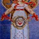 Christmas Spirit Angel of Cross Stitch Beaded CrossStitch Kit Brookes Books