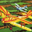 RARE REINARDY  EARLY FLIGHT LONGSTITCH NEEDLEPOINT KIT WORLD WAR I BIPLANES