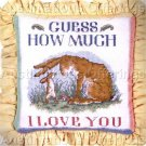 BED TIME STORY GUESS HOW MUCH I LOVE YOU NEEDLEPOINT PILLOW KIT