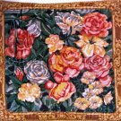 RARE SMITHSONIAN ROSE NEEDLEPOINT PILLOW KIT MARIA OAKEY DEWING GARDEN IN MAY REPRODUCTION