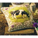 RARE EHRMAN PANSY COW NEEDLEPOINT KIT KAFFE FASSETT