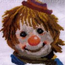 RARE HOBO CIRCUS CLOWNS NEEDLEPOINT KIT SET  ELSA WILLIAMS
