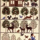 Rare Prairie Schooler Appleseed Folk Art Cross Stitch Kit John Chapman