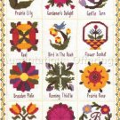 Rare Phyllis Baldridge  Quilt Collector Cross Stitch Kit  Nostalgic Quilts Sampler