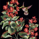 Elsa Williams Summers Jewel Crewel Embroidery Kit Ruby Throated Hummingbird