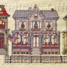 Terrie Lee Steinmeyer Victorian Street Cross Stitch Kit House Row