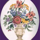 Elsa Williams Classic Bouquet Crewel Embroidery Kit Coronet Vase Michael LeClair