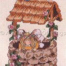 FLUTTER BLOSSOM GRAYSON COUNTED CROSS STITCH FAIRY KIT