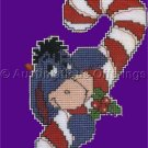 EEYORE CROSS STITCHKIT CANDYCANE ORNAMENT