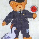 CHERISHED TEDDIES POLICE OFFICER COUNTED CROSS STITCH KIT