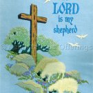 Rare Shafor Lord My Shepherd Inspirational Crewel Embroidery Kit Hillside Grazing Sheep