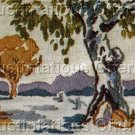 Rare  Australian Plains Crewel Embroidery Kit Landscape Kit