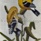 Rare Ruth Houseworth Bird Jiffy Crewel Embroidery Kit  American Gold Finches