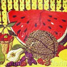Rare Summer Fruit Still Life Crewel Embroidery Kit Watermelon Pears Berries