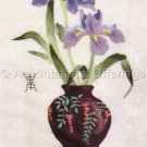 Rare LeClair Asian Floral Arrangement Crewel Embroidery Kit Tribute to Orient Williams