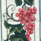 Rare LeClair Muscat Grapes Needlepoint Bellpull Kit Grapevine