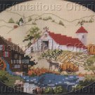Counted Cross Stitch CHART ONLY Country Farm