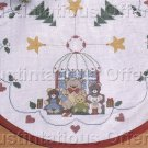 Counted Cross Stitch Kit Mini Teddy Tree Skirt