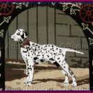SARA DAVENPORT VICTORIAN DOG TAPESTRIES FIRE HOUSE DALMATION  NEEDLEPOINT KIT