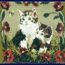 SARA DAVENPORT VICTORIAN CAT PORTRAIT TAPESTRIES INNOCENT KITTENS NEEDLEPOINT KIT