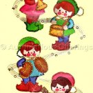 Felt Applique Musical Christmas Elves Kit